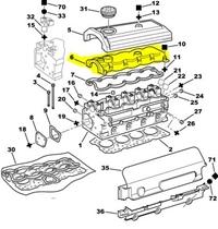 Külbürütör  Kapağı | Supap kapağı