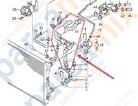 Motor Radyatörü Alt Su Hortumu