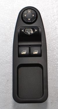 AN636A MCAR Sol Ön Kapı Cam Düğmesi Katlanır