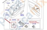 93576A6000 ORJINAL Düğme Kapı Ön Cam