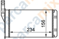 PEG0297 VAGEN Kalorifer Radyatörü